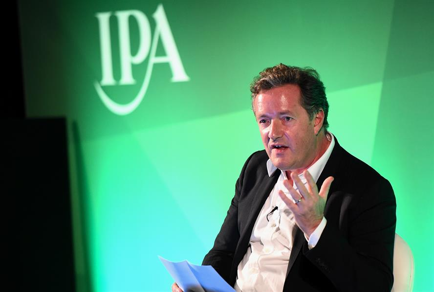 """Piers Morgan: Claims Leveson has """"left us with a muted industry"""""""