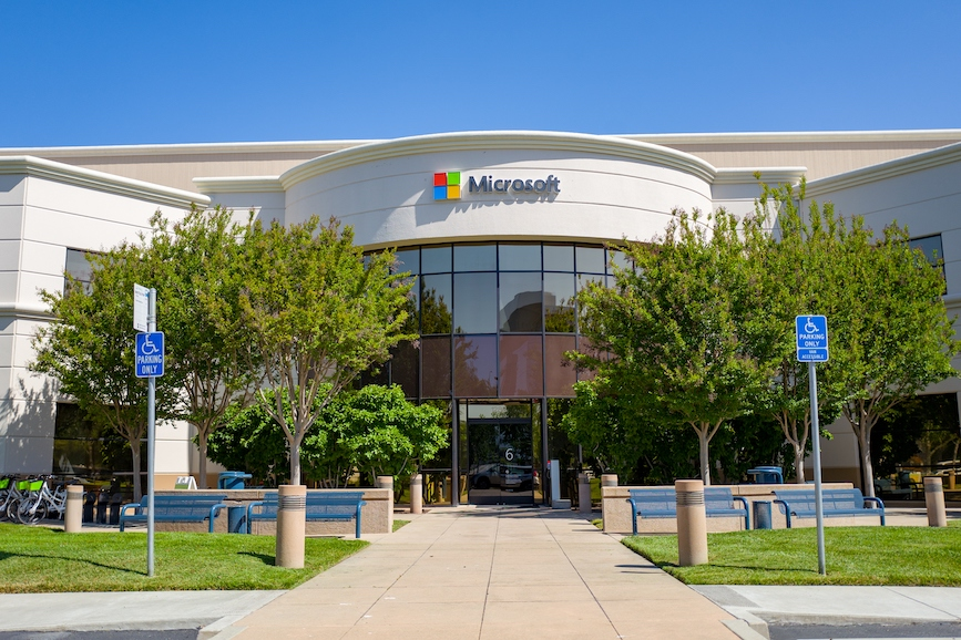 Microsoft's Silicon Valley Campus. (Photo credit: Getty Images).