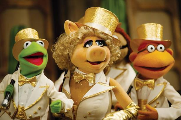 Kermit and Miss Piggy in happier times.