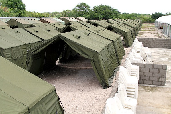 The Nauru regional processing facility (DIACimages/Wikimedia Commons)