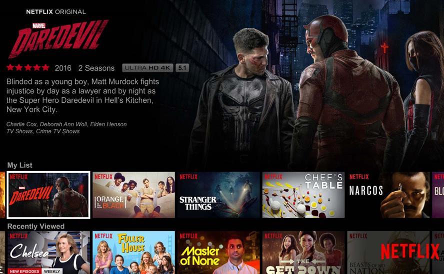 Organic counts Netflix Originals among its clients