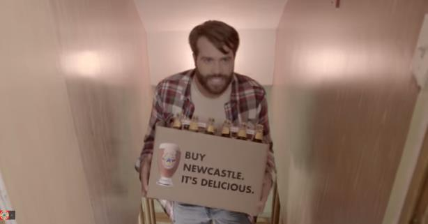 "The ""subliminal"" advertising in Newcastle's latest attempt to crash the Super Bowl"