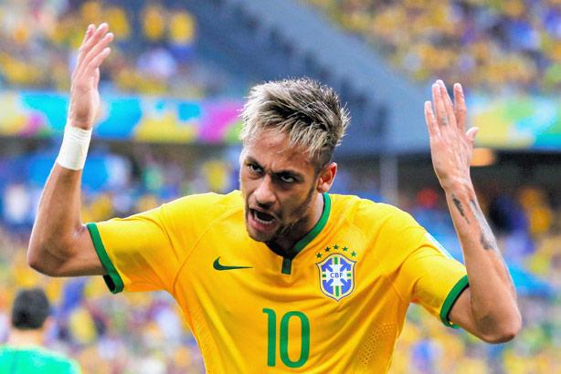 Neymar: Brazil's talisman was sorely missed last night (Credit: The Asahi Shimbun via Getty Images)