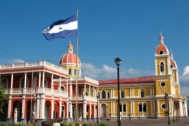 Nicaragua's capital city of Granada, via Wikimedia Commons