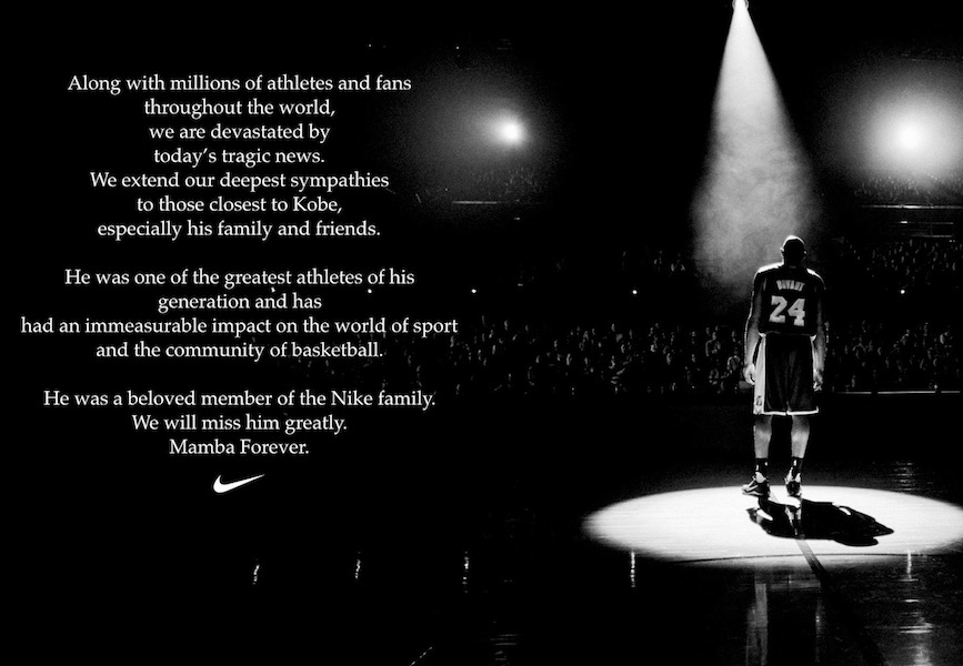 Photo from Nike's social media accounts.