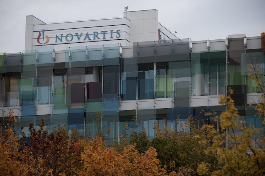 Novartis headquarters in Basel, Switzerland. (Photo credit: Getty Images).