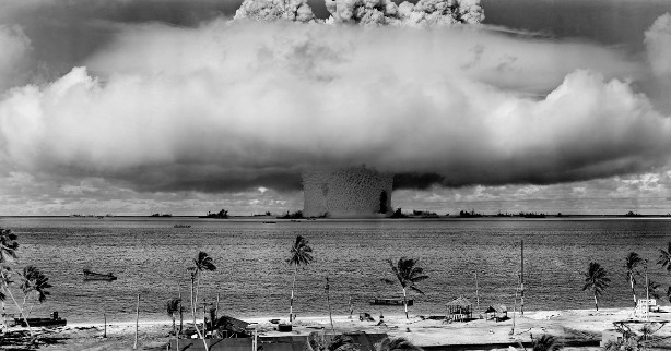 The doomsday clock has been set at two and a half minutes to midnight