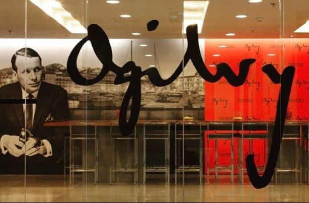 Founder David Ogilvy's iconic firm is undergoing a period of flux. (Pic via Ogilvy Instagram.)