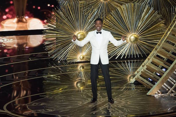 Chris Rock hosted this year's Oscars amid the #OscarsSoWhite controversy.