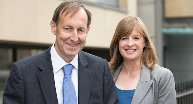 Pagoda Porter Novelli: Deputy chairman Ian Coldwell and MD Angela Casey