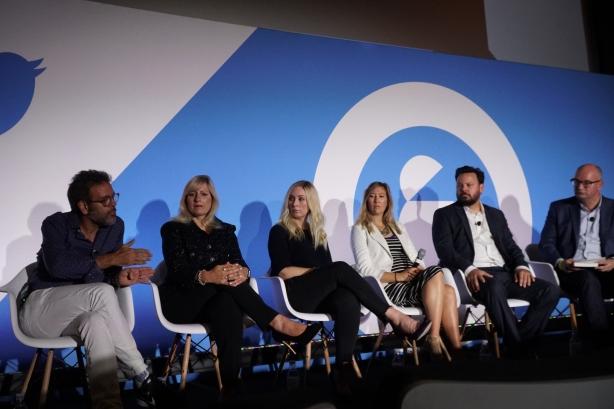 (L-R) P.J. Pereira, Loreen Babcock, Lauren Dineen-Duarte, Jen Wilson, Matt Johnson, Steve Barrett