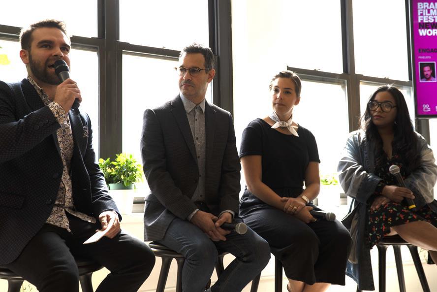 L to R: Ollie McAteer, Adam Hirsch, Chelsea Phillips, Kanyessa McMahon
