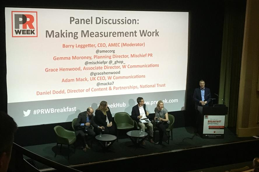 Expert panel: Around 150 delegates gained valuable insights at PRWeek event
