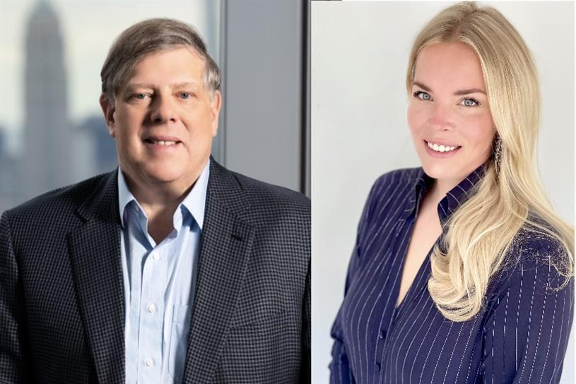 L-R: Mark Penn, CEO, MDC Partners; Rebecca Routs, senior director for key clients