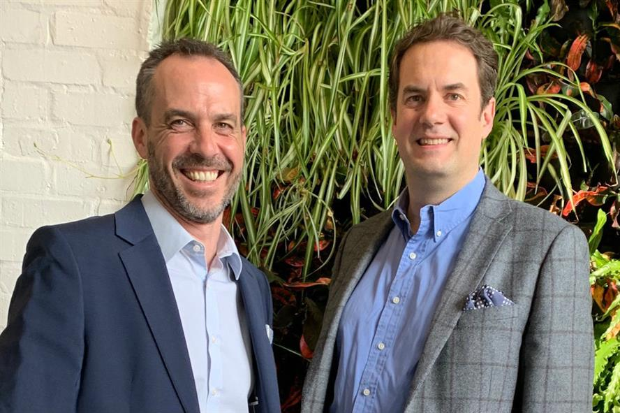 New division: Performance founders Andy Francis (left) and Charlie Raincock