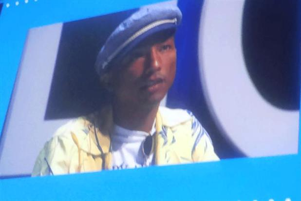 Pharrell Williams: Millennials can hear something and see right through it
