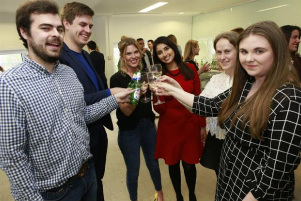 Toasting success: some of last year's 30 Under 30. Who will make the 2017 list?