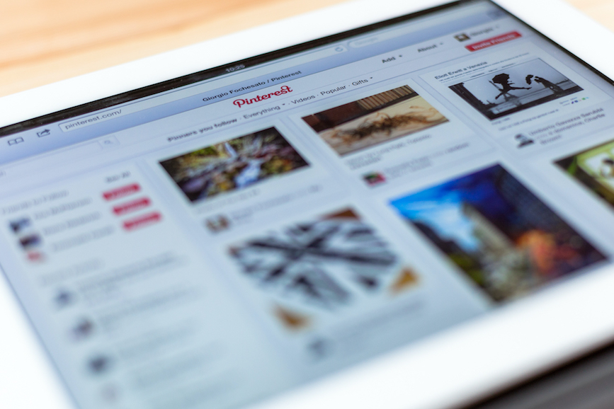 With Pinterest use surging, the platform gave brands a guide for how best to use and not use it during the pandemic. (Photo credit: Getty Images)