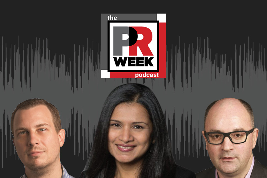 L to R: Frank Washkuch, Rema Vasan, Steve Barrett