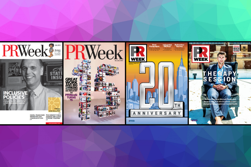 PRWeek's content has evolved significantly over the last decade to reflect the fast-changing PR industry.