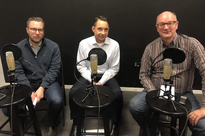 L-R: Frank Washkuch, Paul Gennaro, Steve Barrett
