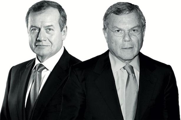 L-R: WPP executive chairman Roberto Quarta and former CEO Martin Sorrell