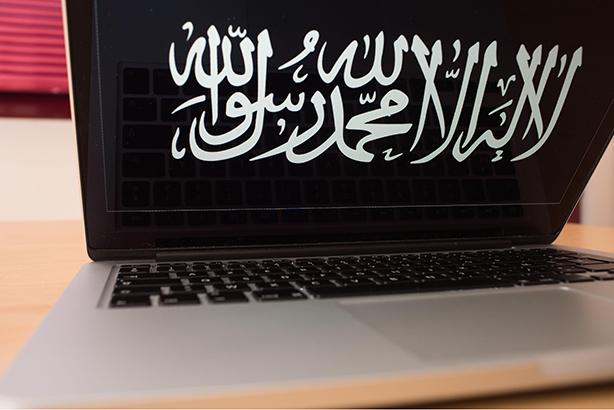 Islamic State: Promoting propaganda online (Credit: Sebastien Salom-Gomis/SIPA/Rex)
