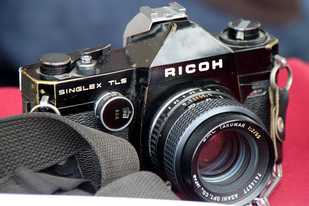 A vintage Ricoh camera from the 1960s: The firm makes a range of hardware and provides IT services (Credit: Mr.TinDC via Flickr)
