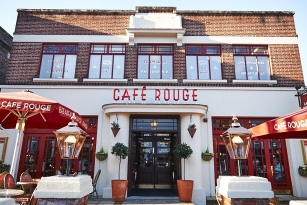 Café Rouge: The French bistro chain has chosen LightBrigade to lead rebrand