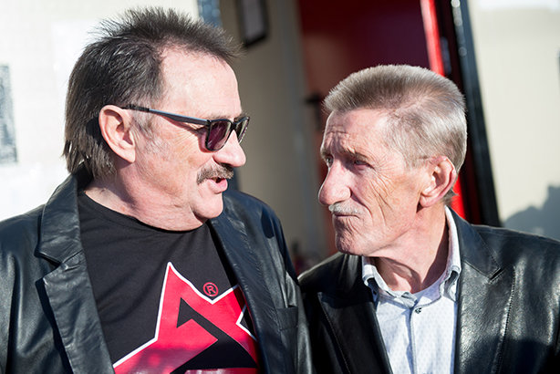 Paul, left, and Barry Elliott, aka the Chuckle Brothers (Pic credit: Ollie Millington/Redferns/Getty Images)