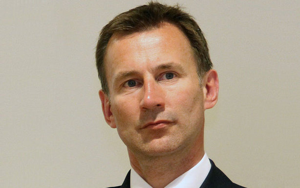 Health Secretary Jeremy Hunt: Mentioned by missing junior doctor
