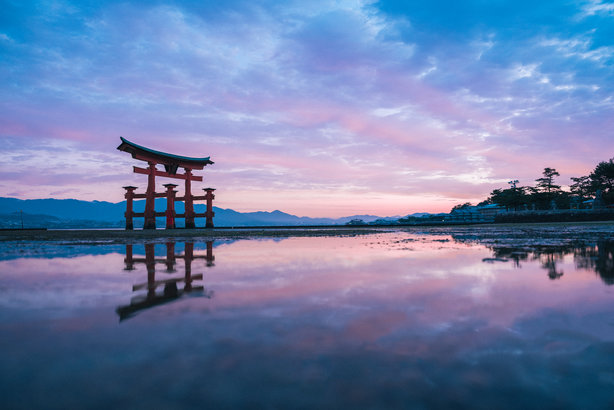 Itsukushima Shrine, Japan (Pic credit: Setouchi Tourism Authority)