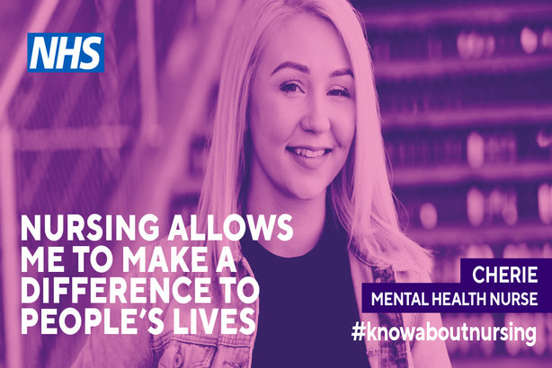 Cherie Lawrence: A mental health nurse and an ambassador for the Know About Nursing campaign