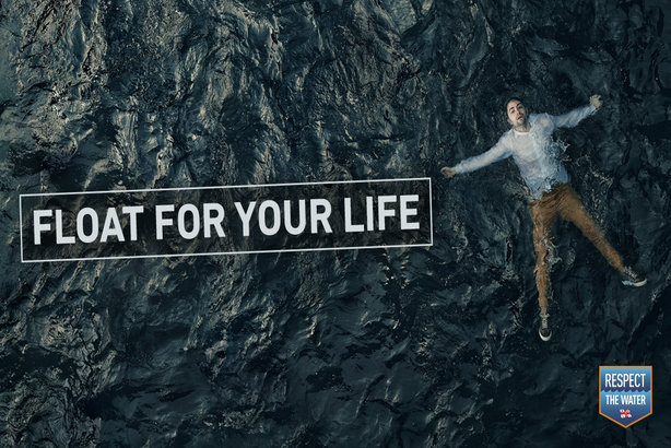 RNLI's 'Respect the Water' campaign aims to educate the public and save lives