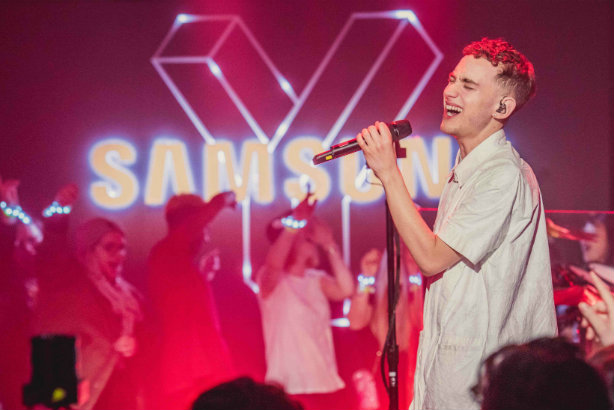 Performance: Iris Worldwide's work with Samsung kicked off with this Years & Years event