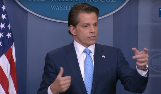 Anthony Scaramucci. (Image via the White House's YouTube page).