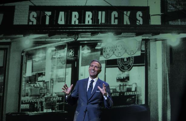 Howard Schultz (Photo credit: Getty Images)
