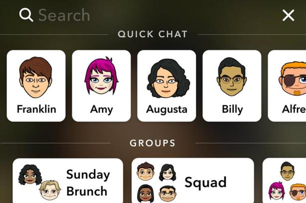 Snapchat is introducing a search bar.
