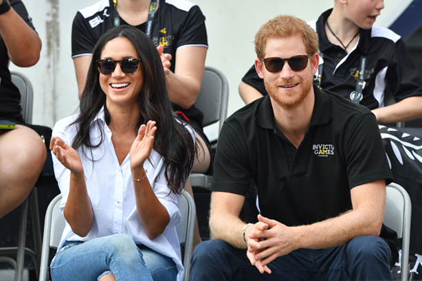 The couple at the Invictus Games in Toronto in September (©Tim Rooke/REX/Shutterstock)