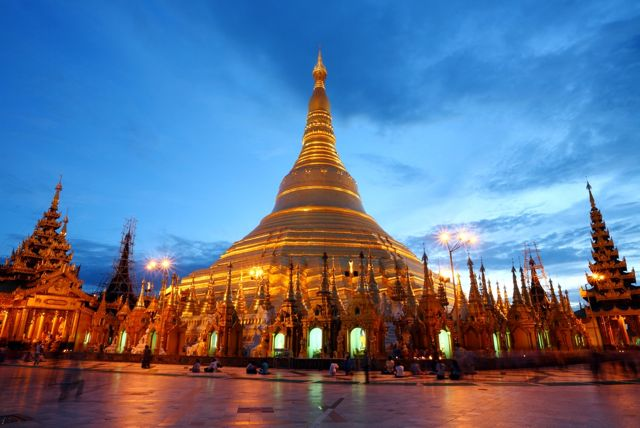 The Shwedagon Pagoda, Yangon