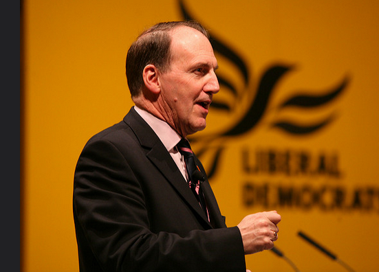 Sir Simon Hughes: Joining The Open University (Credit: Liberal Democrats)