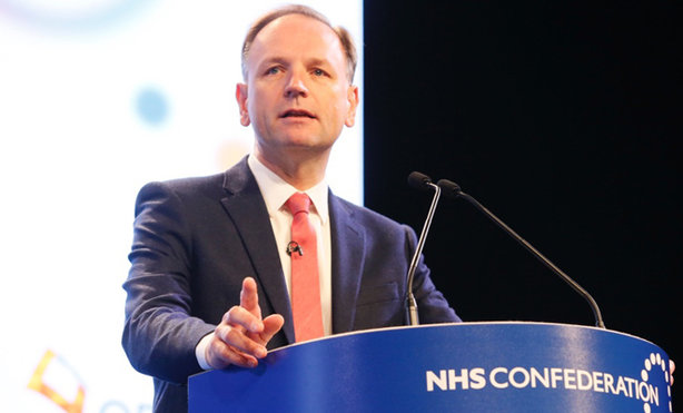 Simon Stevens: chief executive of NHS England speaking at a previous Confed event