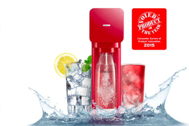 SodaStream: looking to reposition as a premium sparkling-water brand