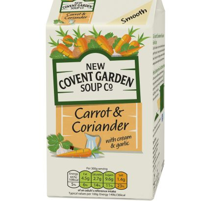 New Covent Garden Soup Co: One of the brands to be handled by Wild Card