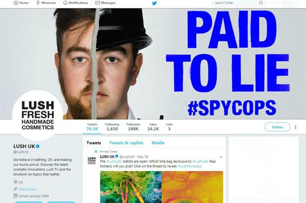 The conversation continues, says campaign group which partnered with Lush for controversial campaign
