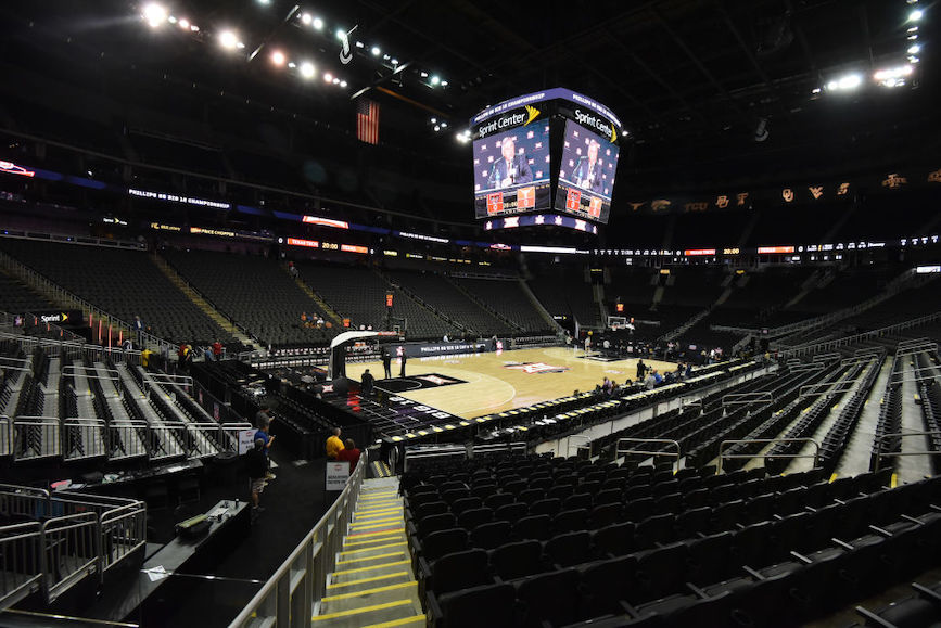 Deserted sports venues are just one impact of the global COVID-19 health crisis. (Photo credit: Getty Images.)