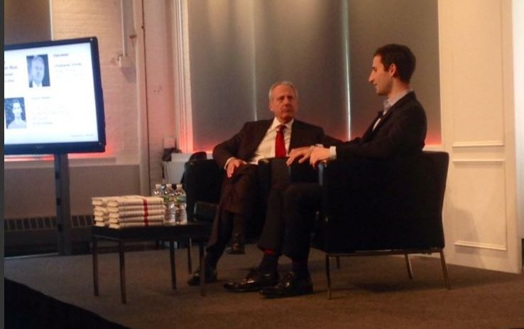 Christopher Graves, global chairman Ogilvy PR Worldwide, interviews Tommy Stadlen