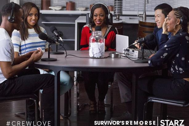 A still from 'Survivor's Remorse on Starz. (Image via the network's Facebook page).