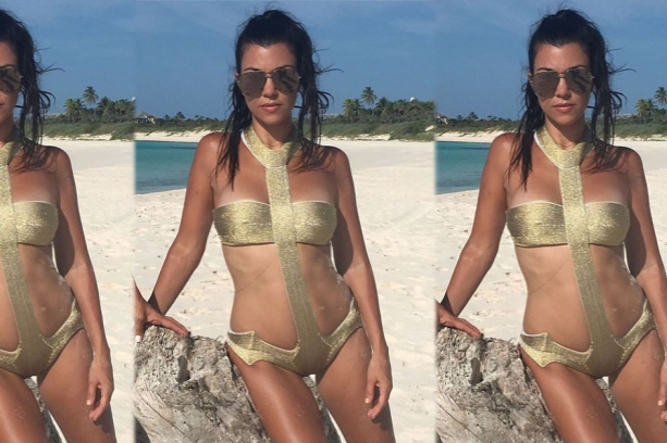 The FTC warned Kourtney Kardashian about a lack of transparency around influencer marketing and commercial relationships. [Pic courtesy of Kourtney Kardashian Twitter page.]
