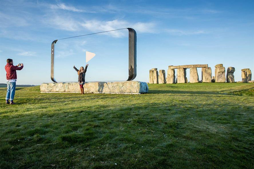 Stonehenge was chosen as one of the 20 most popular views in the UK